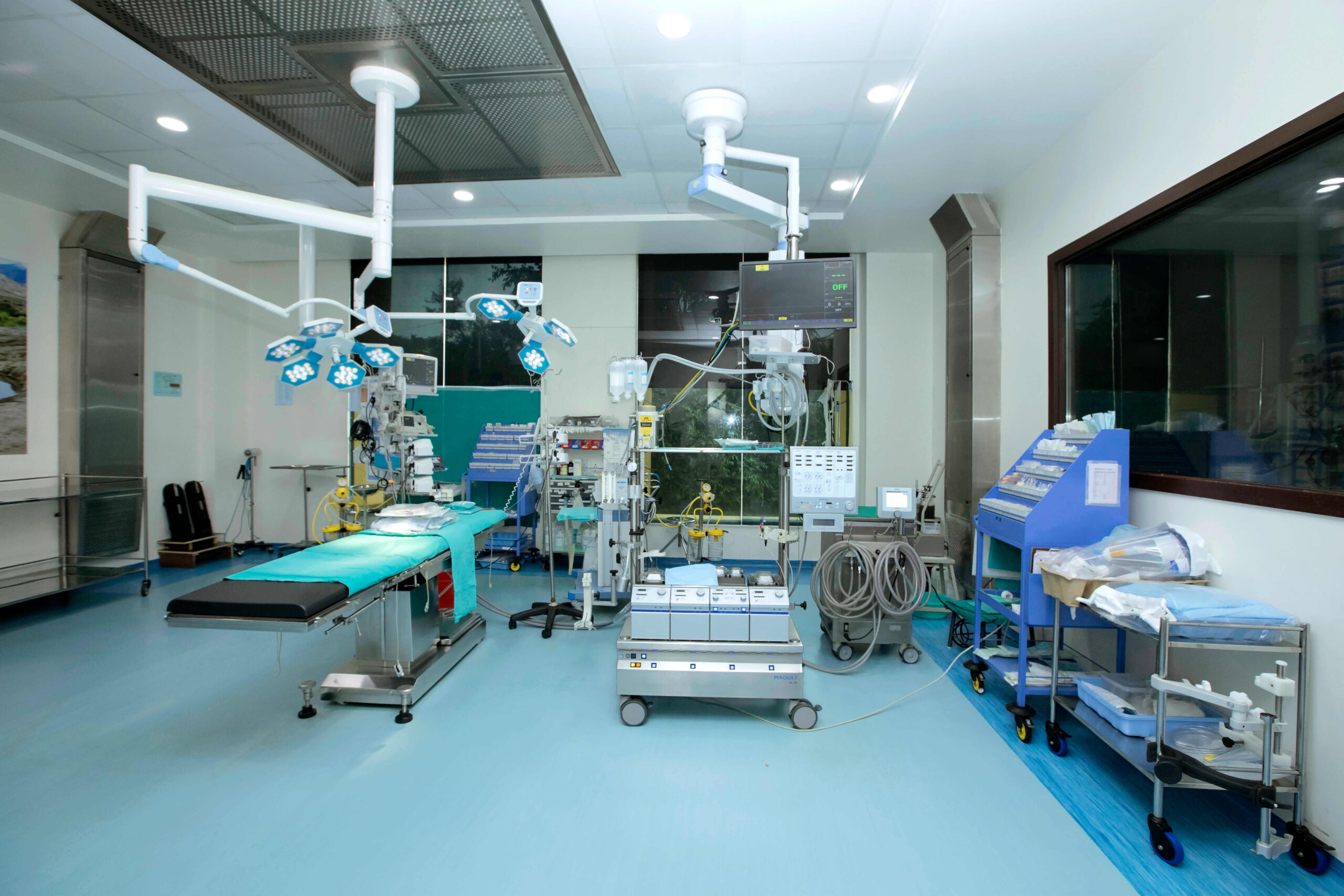 Ram Mangal Heart Foundation Surgery Room